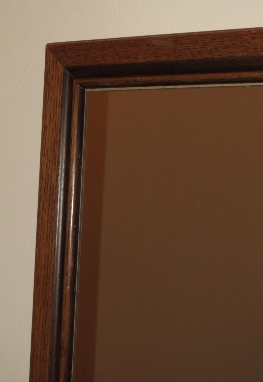 alter spiegel mit holzrahmen alter antiker spiegel mit. Black Bedroom Furniture Sets. Home Design Ideas